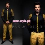 Deepak & Fahad Latest Winter Menswear Dresses 2012 011