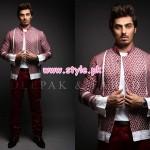 Deepak & Fahad Latest Winter Menswear Dresses 2012 012