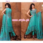 Eiza by UA Textiles Winter 2012 Dresses For Women 008