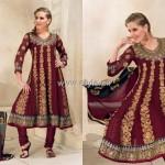 Formal Wear Anarkali Frocks Designs for Women 011