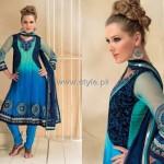 Formal Wear Anarkali Frocks Designs for Women 013