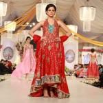Hijaab Bridal Collection At Bridal Couture Week 2012 0012