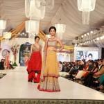 Hijaab Bridal Collection At Bridal Couture Week 2012 008