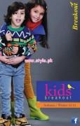 Kids Breakout Latest Winter 2012 Casual Wear Dresses 003