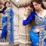 Latest Bridal Saree Trends 2012 For Women 0011