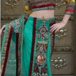 Latest Bridal Saree Trends 2012 For Women 006