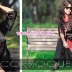 Latest Corrogue Winter 2012 Casual Dresses 001