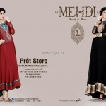 Mehdi Party Wear Dresses 2012 for Women 005