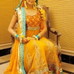 Naj Mehndi Dresses 2012-2013 For Women 008
