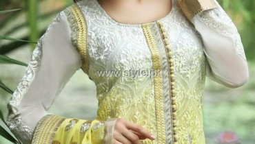 Natasha Couture Embroidered Shalwar Kameez 2012 for Ladies