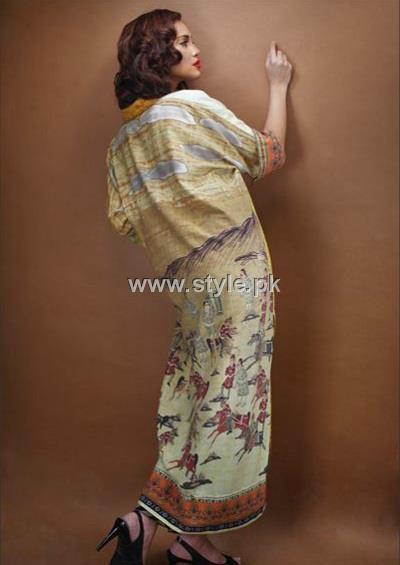 Sania Maskatiya Casual Dresses 2012 for Ladies