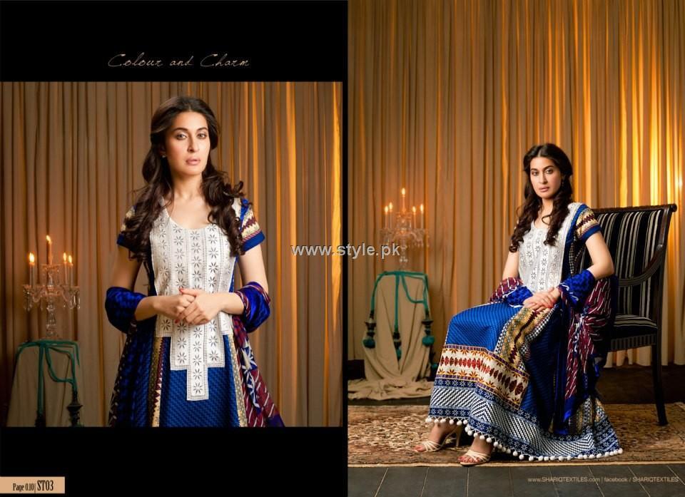 Shariq Textiles Khaddar Collection 2012 for Women