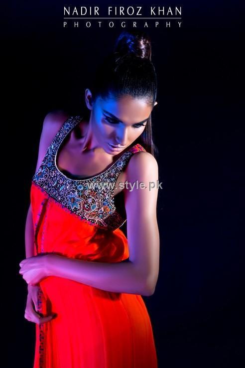 Sonya Battla Party Dresses 2012 for Ladies