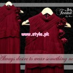 Teena by Hina Butt Latest Winter Collection For Women 2012 007