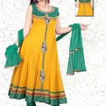 Uzma Creation Yellow Shaded Collection 2012-2013 For Women 008