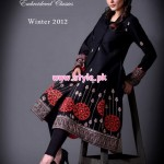 Bareeez Latest Winter Casual Dresses 2012-13 001