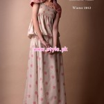 Bareeez Latest Winter Casual Dresses 2012-13 002