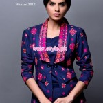 Bareeez Latest Winter Casual Dresses 2012-13 003