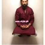 Bareeze Man Latest Casual Kurta Collection 2012 001