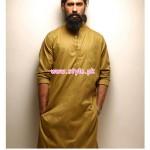 Bareeze Man Latest Casual Kurta Collection 2012 002