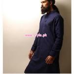 Bareeze Man Latest Casual Kurta Collection 2012 004