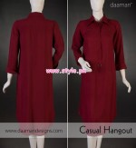 Daaman Latest Casual Dresses 2012 For Winter 003
