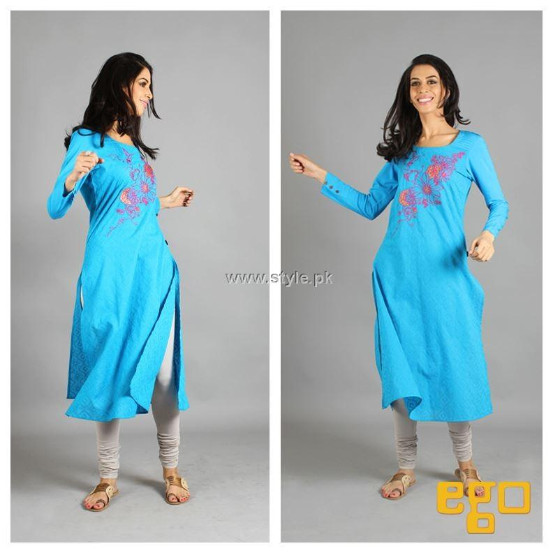 Ego New Winter Dresses 2012-13 for Girls and Women