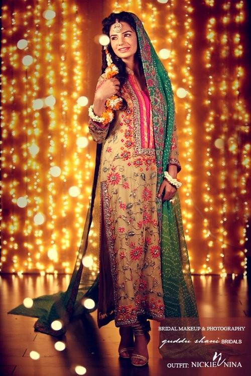 Stylekorner Fashion Of Mehndi Dresses 2013 For Girls 007