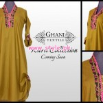Ghani Textiles Latest Kurta Collection 2013 For Women 001