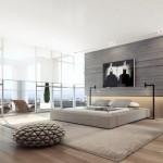 Gray Bedroom Decoration Ideas 008