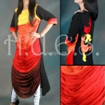 HUES Winter 2012-13 Dresses for Women and Girls 008