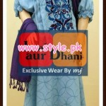 Laal Aur Dhani Winter 2012 Collection For Women 009