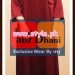 Laal aur Dhani Latest Winter Collection For Girls 2012 001