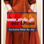 Laal aur Dhani Latest Winter Collection For Girls 2012 004