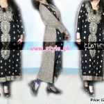 Latest Clothes Line Winter Dresses 2012 For Women 009