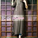 Latest Clothes Line Winter Dresses 2012 For Women 011