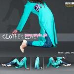 Latest Clothes Line Winter Dresses 2012 For Women 012
