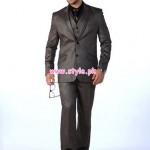 Latest Eden Robe Winter Casual Dresses For Men 2012 002