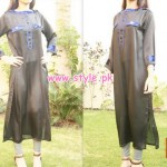 Latest Engrave Party Wear Collection 2013 For Winter 001