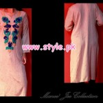 Latest Manne Jee Winter Casual Dresses 2013 003