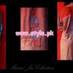 Latest Manne Jee Winter Dresses 2013 For Girls 004