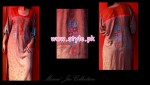 Latest Manne Jee Winter Dresses 2013 For Girls 004