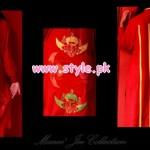 Latest Manne Jee Winter Dresses 2013 For Girls 006