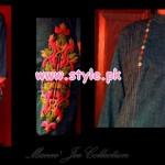 Latest Manne Jee Winter Dresses 2013 For Girls 007