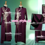 Latest Needle Impressions Party Dresses 2012 For Winter 001