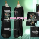 Latest Needle Impressions Party Dresses 2012 For Winter 003