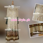 Latest Needle Impressions Party Dresses 2013 For Women 001