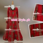 Latest Needle Impressions Winter Party Dresses 2012 009