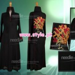 Latest Needle Impressions Winter Party Dresses 2012 010