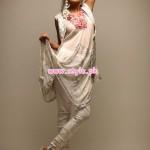 Latest Shamaeel Ansari Party Dresses 2013 For Winter 001